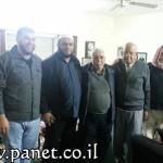لجنة مسجد النور كفر قرع تقوم بزيارات للمسنين